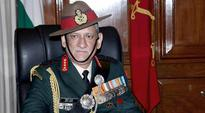 Bipin Rawat to make his first official trip as Army chief to J-K today