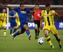 Ousmane Dembele inspires Borussia Dortmund as they thrash Manchester United in China