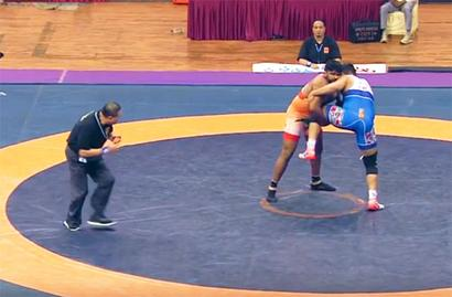 Asian C'ships: Grappler Sumit takes silver as India finish with 10 medals