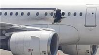 Somalia airplane damage 'caused by bomb'