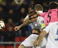Mak double helps Slovakia thrash Scotland 3-0