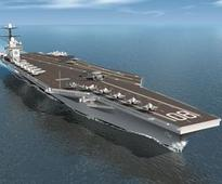 HII awarded $152 million Contract for Enterprise CVN 80
