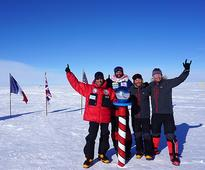 McDiarmid recounts his fifth South Pole trek