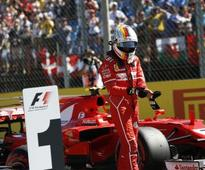 Hungarian Grand Prix: Sebastian Vettel could extend his one-point lead over Lewis Hamilton after taking pole