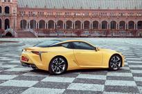 Lexus LC 500 and LC 500h full technical specifications announced