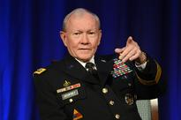 Former Joint Chiefs of Staff Dempsey Blasts Retired Generals Speaking at Conventions