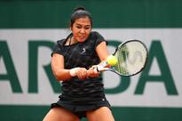 Diyas records win in first round at French Open