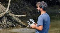 Drones offer a bird's-eye view of conservation