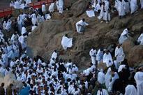 1.8m pilgrims perform stand at Arafah ritual in Saudi Hajj