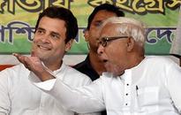 Buddhadeb & Rahul Gandhi share dais, call for change