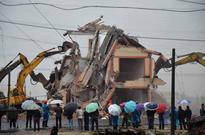 Forced demolition violence raises many questions