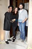Abhishek Bachchan, Aishwarya Rai Bachchan & Sridevi grace Manish Malhotra's birthday bash