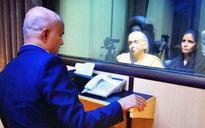 Kulbhushan Jadhav meets mother, wife at Pak Foreign Affairs Ministry