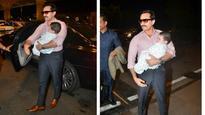 In pics: Kareena Kapoor Khan and Saif Ali Khan take baby Taimur for his first foreign trip