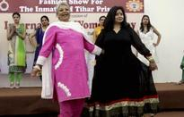 Tihar fashions a new life for lady jailbirds: Jail inmates strut the ramp in their creative designs
