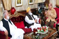 Maulana Fazal meets Shehbaz Sharif
