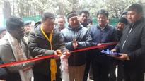 Forest Min TW Lepcha inaugurates Forest Guest House at Hiley , West Sikkim