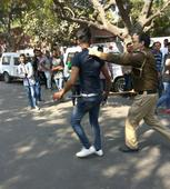 Blood on DU's streets: when ABVP cadres went on a rampage at Ramjas College