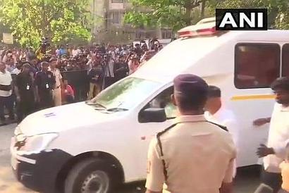 Sridevi's body arrives at Celebration Club