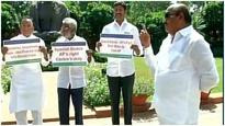 YSR Cong MPs continue protests in LS over special status to Andhra Pradesh