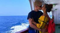 Check pics: Aashka Goradia seals it with a kiss on her Andaman vacation with hubby Brent Goble