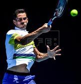 Australian Open: Guillermo Garcia-Lopez loses to Mischa Zverev