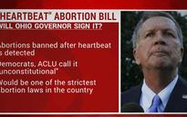 Ohio 20-week abortion ban: Republican lawmakers pass proposal