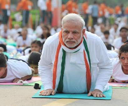 Mann ki Baat: PM wants to know 'how to draw more people to Yoga'