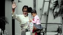 Amitabh Bachchan spent the MOST special Valentines Day with Aaradhya Bachchan!