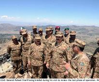 Army chief announces successful completion of Shawal operation