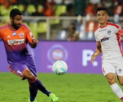 ISL: Bengaluru, Pune play out goalless draw in first leg of semis