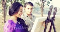 Sonakshi takes painting tips from Salman Khan