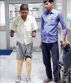 Limbs gone due to rare ailment, man looks to PM Modi for job