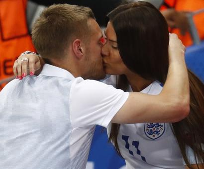 Euro exit: English WAGs comfort the stars