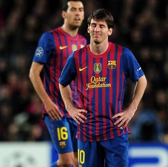 Messi cried after Champions League exit in 2012