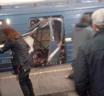 St Petersburg subway bomber identified as Kyrgyz man
