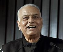 No political meaning, protesting for farmers' rights: Yashwant Sinha