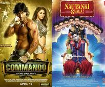 Friday releases: Rom-com 'Nautanki Saala!' vs actioner 'Commando'