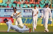 Cricket-India's Rahane out of series, Shami doubtful for Mumbai