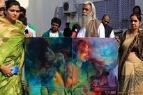 Indian right-wing groups target Jaipur Art Summit over semi-nude painting