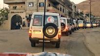 Aid delivered to besieged towns in Syria