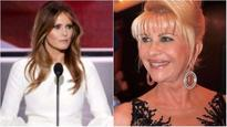 Will the real First Lady please stand up? Melania not amused with Donald Trump's ex wife's comments