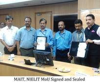 MAIT signed MoU with NIELIT for capacity building of government offices in managing their e-waste