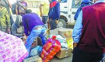 Sadar Hills folks reel under blockade, counter blockade
