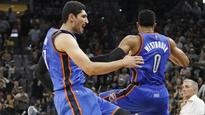 Enes Kanter trolls Russell Westbrook-wanting Lakers with Crying Jordan