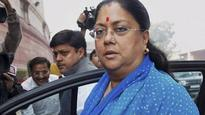 Take schemes of government to public: Rajasthan CM Raje to MPs, MLAs