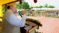Three- and-a-half Chief Ministers are ruling Uttar Pradesh: Amit Shah
