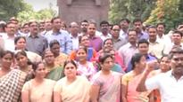 Judges protest provisional allocation between AP and Telangana