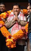 Sarabanda Sonowal sworn in as Assam CM as PM watches