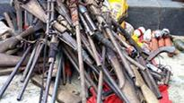 Militants surrender weapons in Imo